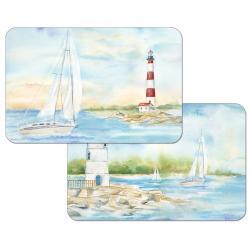 "Cala Home Podkładki na stół dwustronne C174-00110 ""lighthouse"""
