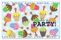 """Cala Home Podkładki papierowe w bloczkach C41194 """"party"""""""