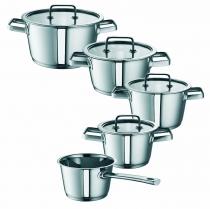 ROHE GERMANY Conia Culinaria-Set 5 elementowy, szklane pokrywki, inukcja 261151-05 - DOSTAWA GRATIS
