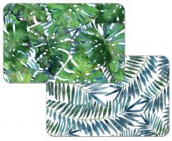 """Cala Home Podkładki na stół dwustronne C174-00017 """"palms"""""""
