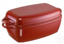 SCHULTE-UFER Brytfanna Rustika czerwona żeliwo 32cm 5,0 l 1664-32 r - dostawa 24H GRATIS