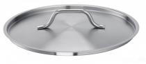 Gastro SUS pokrywa ze stali nierdzewnej 28cm 163030-28