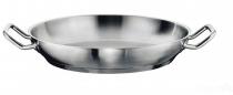Gastro SUS stalowa patelnia do serwowania 40cm 163051-40