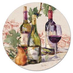"""Cala Home Obrotowa podstawka szklana typu lazy susan 163-000408 """"Wine Tableau"""""""
