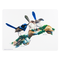 "Ashdene Mata na stół 10327 ""ptaki Australii - stryżyk"""