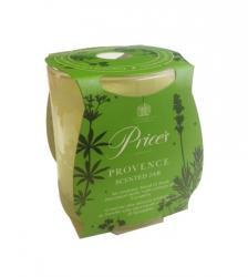 Price's Candles zapachowa świeca w słoiczku PROVENCE