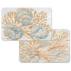 "Cala Home Podkładki na stół dwustronne C174-00107 ""Shimmering Shells"""