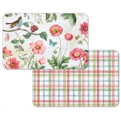 "Cala Home Podkładki na stół dwustronne C174-00115 ""studio botanicals"""