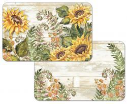 """Cala Home Podkładki na stół dwustronne C174-00007 """"sunflowers"""""""