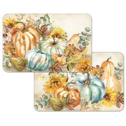 """Cala Home Podkładki na stół dwustronne C174-00057 """"Harvest Pumpkins"""""""