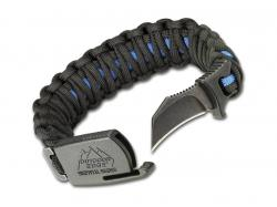 Bransoleta Outdoor Edge ParaClaw Blue Line L Blist