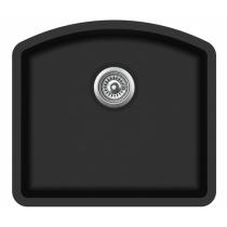 Aquasanita ARCA SQA103-601AW Czarny metalik z korkiem automatycznym