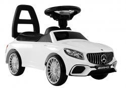 Jeździk Autko dla dzieci Mercedes AMG S65 Biały