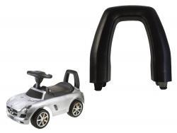 Oparcie do jeździka Mercedes SLS czarne