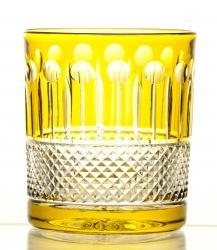 Szklanki kolorowe kryształowe do whisky 6 sztuk (16321)