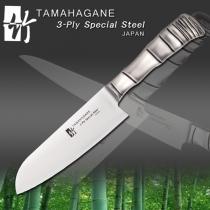 Tamahagane TK1115-DPS Santoku 160mm - TOWAR W MAGAZYNIE