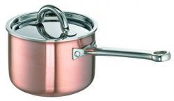 SCHULTE-UFER Rondel DeLuxe miedziany 2 litry 16cm 9520-16i - dostawa 24h GRATIS