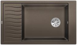 BLANCO ELON XL 8 S Silgranit PuraDur Kawowy odwracalny, InFino, kratka ociekowa