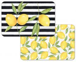 "Cala Home Podkładki na stół dwustronne C174-00034 ""jardin de citron"""