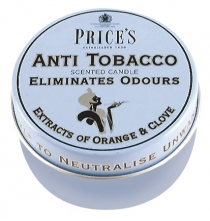 Price's Candles tealighty zapachowe ANTI TOBACCO duże w puszce