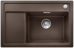 BLANCO ZENAR XL 6 S Compact Silgranit PuraDur kawowy prawa komora z korkiem InFino i korkiem automatycznym