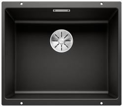BLANCO SUBLINE 500-U Silgranit PuraDur Czarny InFino
