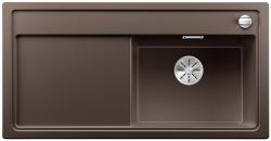 BLANCO ZENAR XL 6 S Silgranit PuraDur kawowy prawa komora z korkiem InFino i korkiem automatycznym