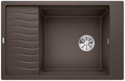 BLANCO ELON XL 6 S Silgranit PuraDur Kawowy odwracalny, InFino, kratka ociekowa