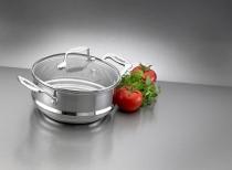 SCANPAN Multi-wkład 16/18/20cm do gotowania na parze IMPACT - dostawa GRATIS