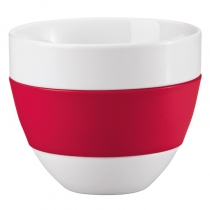 Kubek do latte biało-czerwony Aroma KZ-3560583