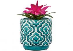 Ladelle Resort doniczka dekoracyjna Teal Planter Pot L61295