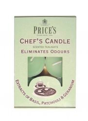 Price's Candles tealighty zapachowe CHEF'S CANDLE