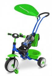 Milly Mally Rowerek Boby Deluxe 2014 Blue - Green P