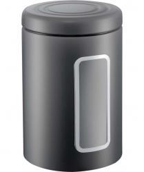 Pojemnik z okienkiem CL 2l grafitowy MATT Wesco
