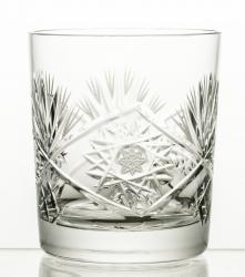 Szklanki kryształowe do whisky bogaty szlif 6 sztuk