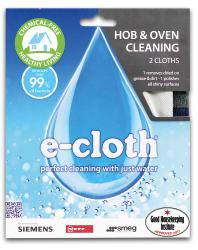 E-cloth zestaw ściereczek do płyty kuchennej i piekarnika - komplet 2 sztuki HOP E20191