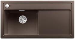 BLANCO ZENAR XL 6 S Silgranit PuraDur kawowy lewa komora z korkiem InFino i korkiem automatycznym