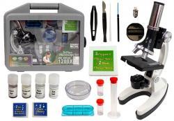 Mikroskop Dziecięcy w Walizce 28 elementów