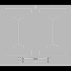 Electrolux EIV64440BS płyta indukcyjna SLIM-FIT z funkcją Multiple Bridge,Direct Touch i opcją PowerBoost, kolor srebrny