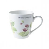 """Marjolein Bastin Kubek porcelanowy XL 176707 """"owoce - poziomka"""""""