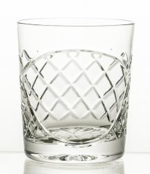 Szklanki kryształowe do whisky 6 sztuk pod grawer