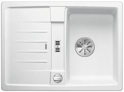 BLANCO LEXA 40 S Silgranit PuraDur Biały odwracalny, korek auto., InFino