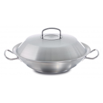 Wok z metal. pokrywą 5,6l 35cm Original Profi Colection®