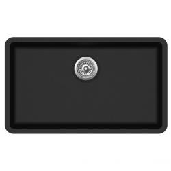 Aquasanita ARCA SQA104-601AW czarny metalik z korkiem automatycznym