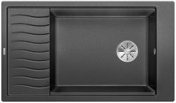 BLANCO ELON XL 8 S Silgranit PuraDur Antracyt odwracalny, InFino, kratka ociekowa