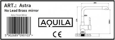 Aquila Astra chrom