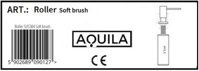 Aquila dozownik Roller inox
