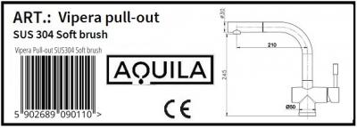 Aquila Vipera Pull-out inox