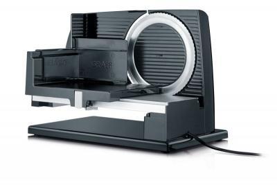 GRAEF SKS11002 (Czarna) Krajalnica elektryczna, kuchenna, uniwersalna, 45 W