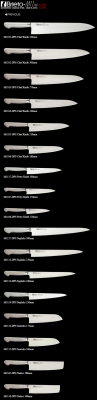 Brieto M1101-DPS Chef Knife 330mm - TOWAR W MAGAZYNIE